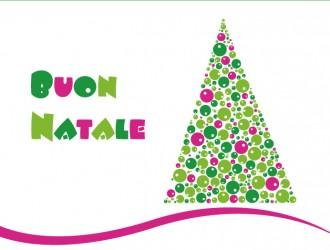 albero di Natale con bolle – Christmas tree with bubbles