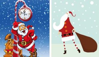 bigliettini Babbo Natale – Santa Claus cards