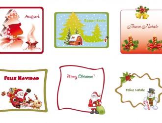 bigliettini e cornici di Natale – Christmas cards and frames