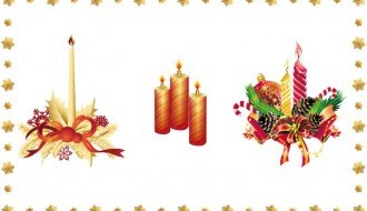 candele natalizie – Christmas candles_1