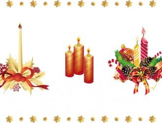 candele natalizie – Christmas candles_1