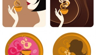 donne che bevono caffè – drinking coffee women