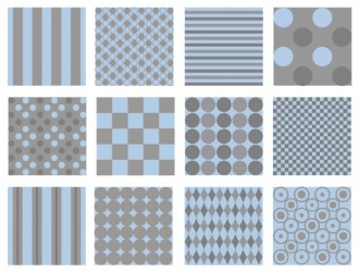 pattern strisce e pois azzurro grigio – pattern stripes and polka dots blue gray