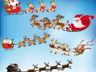 slitte di Babbo Natale – Christmas sleighs