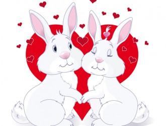 conigli innamorati – rabbits in love
