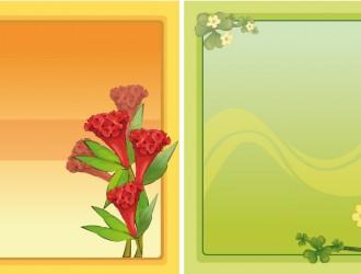 cornici floreali – floral frames_2