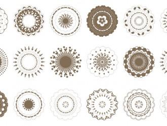 decorazioni rotonde – round ornaments