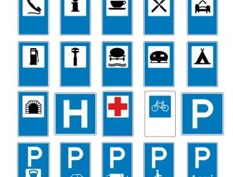 segnali stradali indicazione – road signals