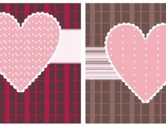 2 biglietti San Valentino – Valentine cards