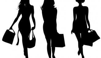 3 sagome donne – shopping women