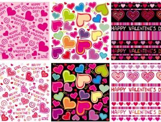 6 pattern San Valentino – Valentines pattern