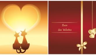 biglietti San Valentino – Valentines greeting cards