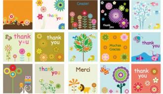 bigliettini di ringraziamento – thank you cards
