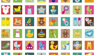 icone bambini – baby icons