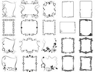 cornici decorative – decorative frames