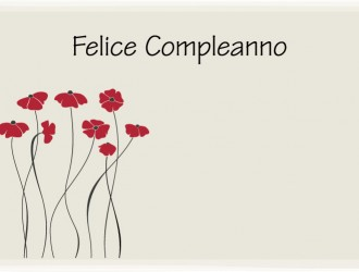 felice compleanno fiori – happy birthday flowers