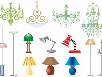 lampadari e lampade – chandeliers and lamps