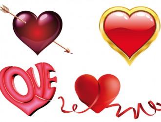 4 cuori – hearts