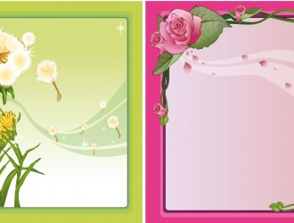 cornici floreali – floral frames_3