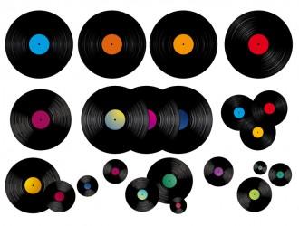dischi musicali – music disks