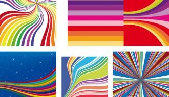 sfondi con linee colorate – colorful lines background