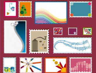 14 francobolli – stamps different subjects