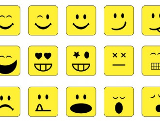 15 emoticons quadrate – square emoticons