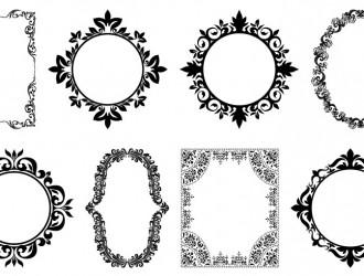 8 cornici varie forme – different frames