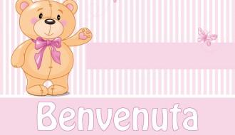 benvenuto neonata orsetto – newborn welcome bear