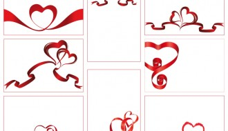 bigliettini cuori – ribbon hearts cards