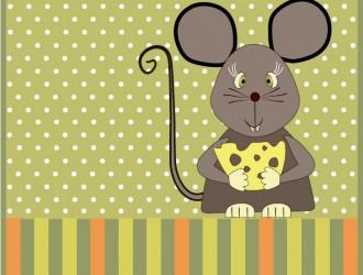 topo con formaggio – mouse with cheese_01
