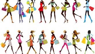16 ragazze con buste – shopping girls