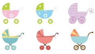 6 passeggini per bambini – baby strollers
