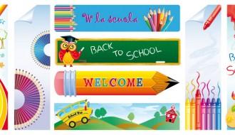 8 banner scuola – school banner