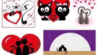 gatti innamorati – cats in love