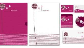 identità aziendale fiori – floral corporate identity