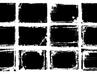 12 cornici grunge – grunge bordes frames