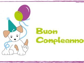buon compleanno cane – dog happy birthday