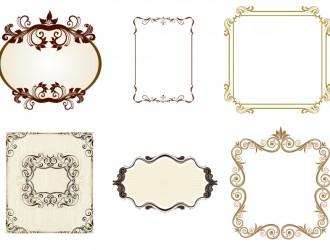 6 cornici – vintage frames