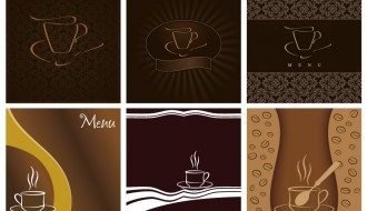 6 menu caffe' – coffee menu