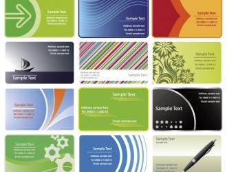 12 bigliettini da visita – business cards