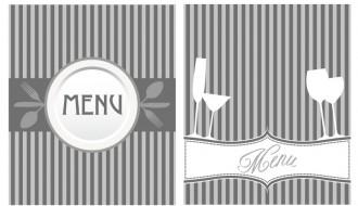 2 menu grigi – gray menu
