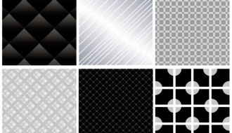 6 pattern grigi e neri – gray and black pattern