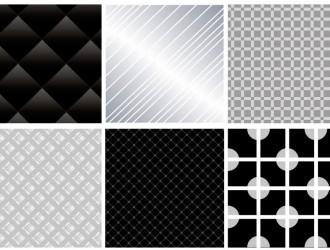 6 pattern grigi e neri – gray and black pattern