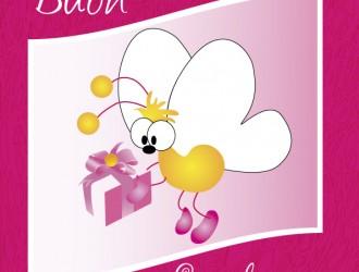 buon compleanno – happy birthday cartoon