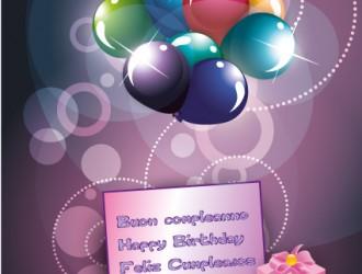 buon compleanno – happy birthday – feliz cumple