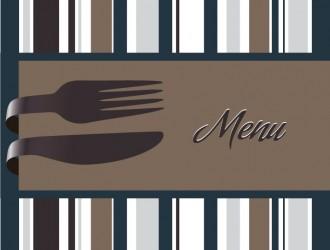 menu righe posate – menu lines and cutlery