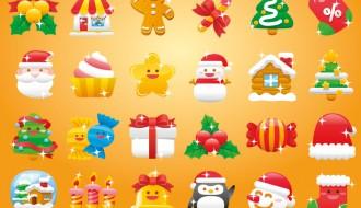 24 icone Natale – Christmas icons