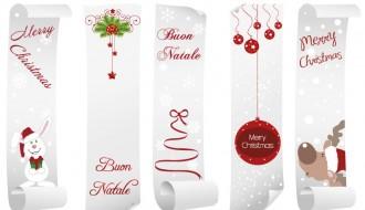 5 banner Natale – Christmas banner