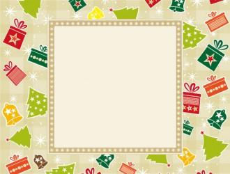 cornice natalizia – Christmas frame_01